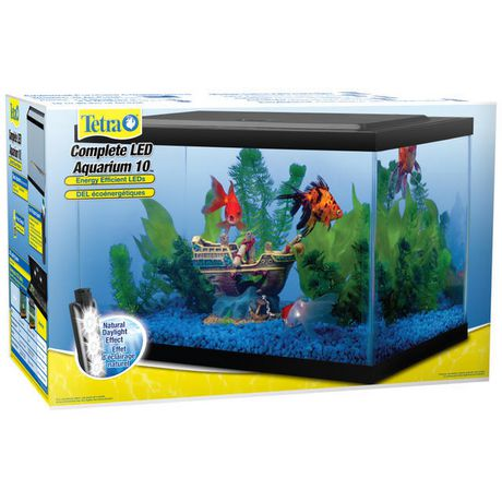 tetra, complete led aquarium kit - 10 gallon | walmart canada