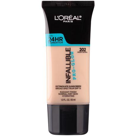 L'Oréal Paris Infallible Pro-Glow Foundation - image 1 of 4