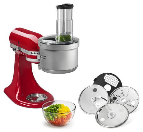 Wonderful KitchenAid Food Processor With Dicing Kit Attachment