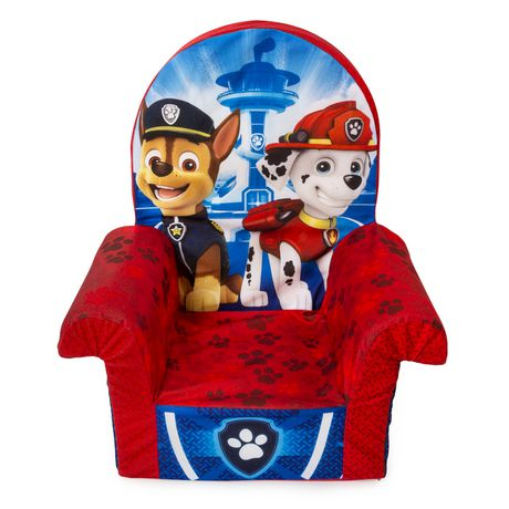 Marshmallow Furniture Children S Foam High Back Chair Paw Patrol