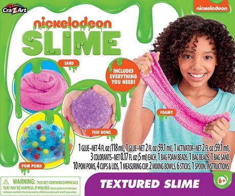 Kit Deluxe pour glue texturée par Nickelodeon