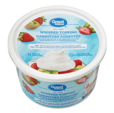 Great Value Light Whipped Topping - image 2 of 3
