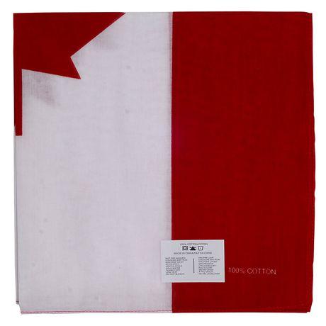 Hometex Canadian Flag Bandanas - image 2 of 7
