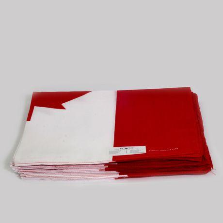 Hometex Canadian Flag Bandanas - image 3 of 7