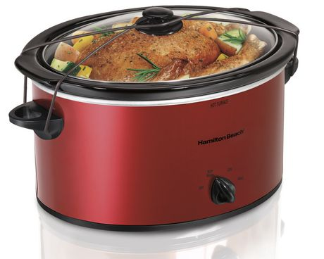 Hamilton Beach® 5 Quart Portable Slow Cooker | Walmart Canada