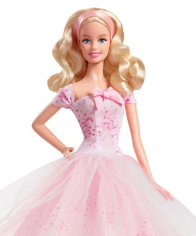 Barbie Birthday Wishes 2016 Barbie Doll - image 2 of 5