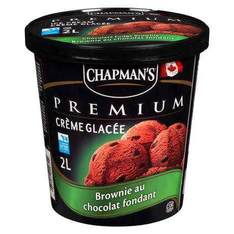 Chapman's Premium Chocolate Fudge Brownie Ice Cream - image 2 of 4