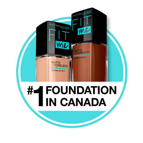 Maybelline New York Fit Me®, Matte + Poreless Liquid Foundation - image 4 of 6