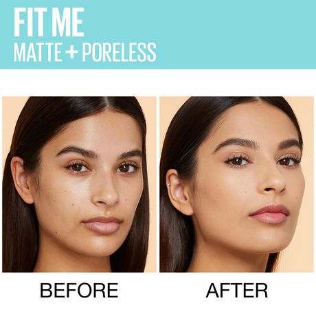 Maybelline New York Fit Me®, Matte + Poreless Liquid Foundation - image 6 of 6