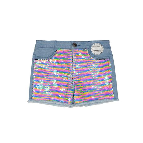 Girls Mini Pop Kids Sequin Shorts - image 4 of 6