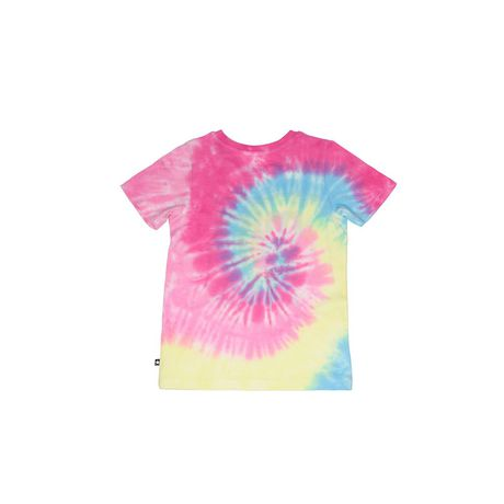 Girls' Mini Pop Kids Shimmer Multi-Colour Tie Die T Shirt - image 6 of 7