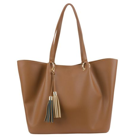 George Mayflower Boulevard Tote - Cognac