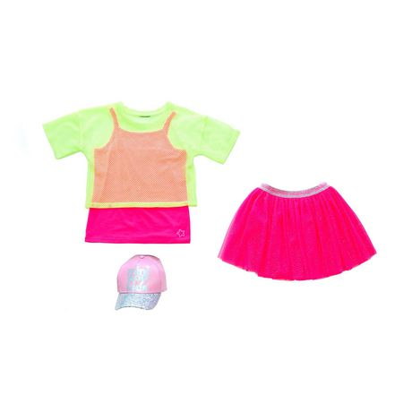 Girls Mini Pop Kids Flamingo Highlight Tutu Skirt - image 5 of 5