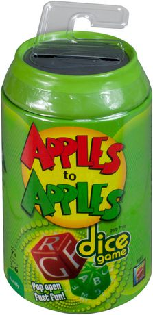Apples To Apples Dice Game - image 1 of 3