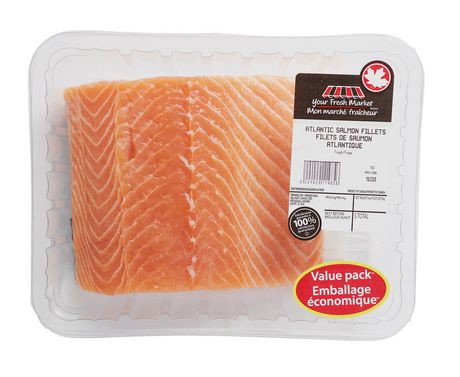 your fresh market atlantic salmon fillets walmart canada. Black Bedroom Furniture Sets. Home Design Ideas
