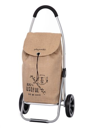 """Playmarket """"go Two"""" Shopping Trolley - Brown - image 1 of 6"""
