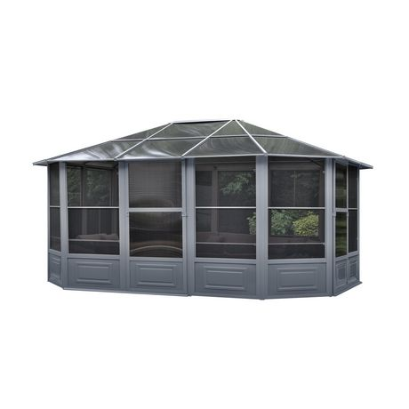 Florence Solarium 12 Ft. x 15 Ft. in Slate - image 1 of 4