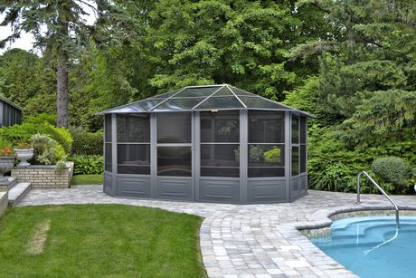 Florence Solarium 12 Ft. x 15 Ft. in Slate - image 2 of 4
