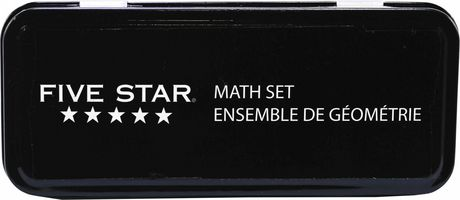 Five Star 10 Piece Math Set - image 2 of 2