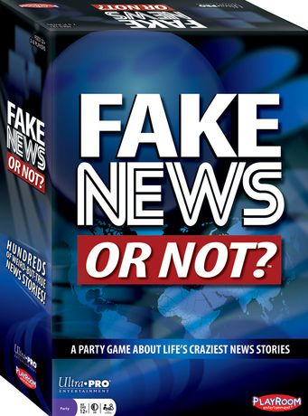Ultra Pro Fake News Or Not? - image 1 of 1
