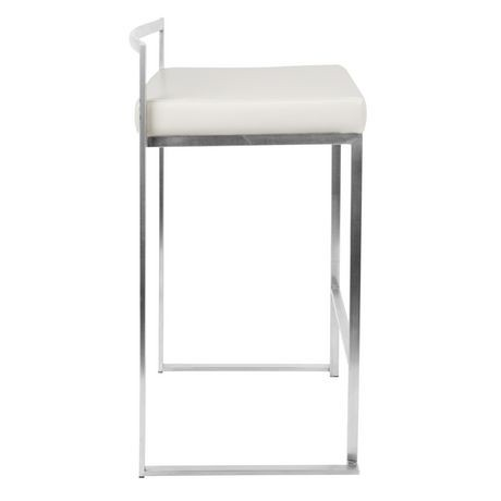 Fuji Stackable Contemporary Counter Stool By Lumisource