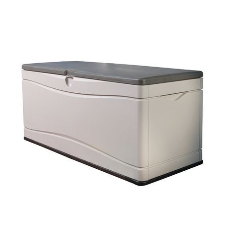 lifetime 130 gal outdoor storage box walmart canada. Black Bedroom Furniture Sets. Home Design Ideas