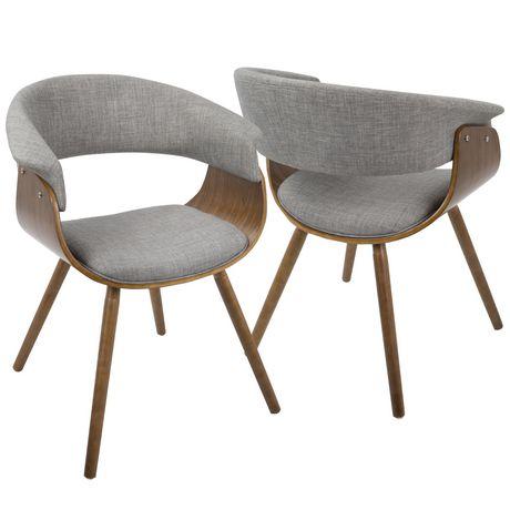 Vintage Mod Mid Century Modern Chair By Lumisource Walmart Canada