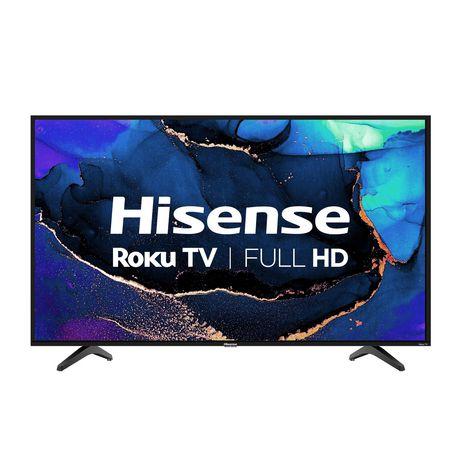 "Hisense 43"" Full HD Roku Smart TV, 43H4G - image 1 of 7"