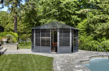Florence Solarium 12 Ft. x 12 Ft. in Slate - image 2 of 5