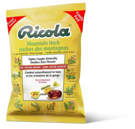 Ricola Mountain Herbs Suppressant Throat Lozenges - image 1 of 6