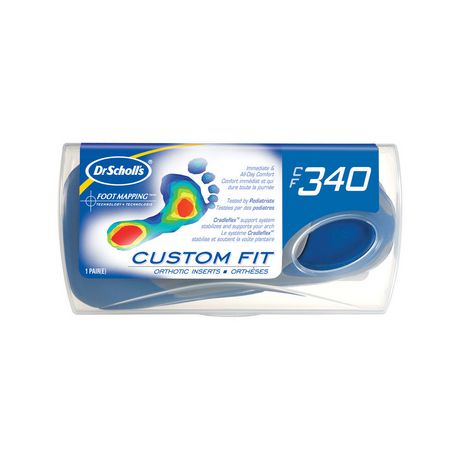 CF340® Dr. Scholl's® Custom Fit Orthotic Inserts® - image 1 of 1