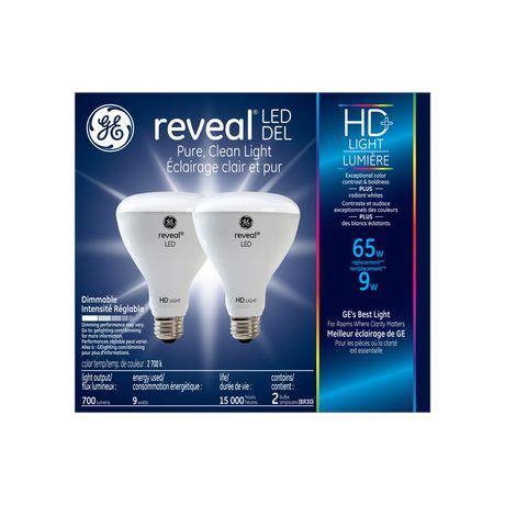 General Electric 9W HD+ DEL R30 Reveal Ampoule - image 1 de 5