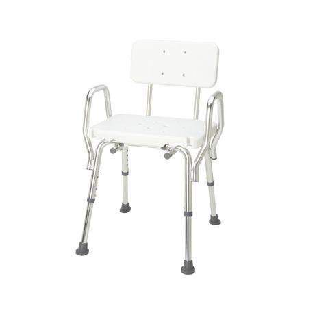 Chaise de bain solide DMI avec dossier - image 2 de 4