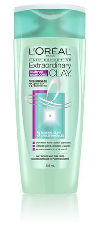 L'Oreal Paris Hair Expertise Extraordinary Clay Shampoo - image 1 of 6