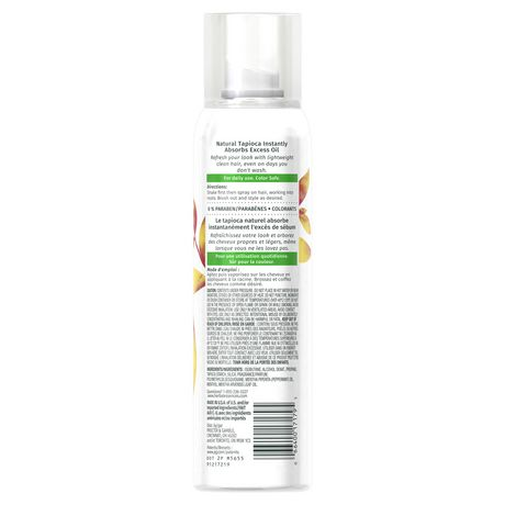 Herbal Essences Daily Detox Volume Dry Shampoo Crimson Orange & Mint - image 2 of 7