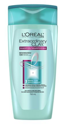 L Oreal Paris Hair Expertise Extraordinary Clay Shampoo