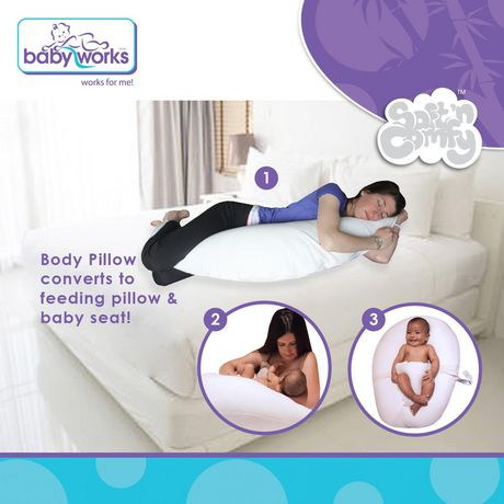 Baby Works™ Before & After™ Maternity Pillow - image 2 of 9