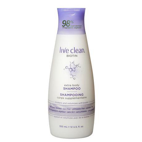 Live Clean Biotin Shampoo - image 1 of 2