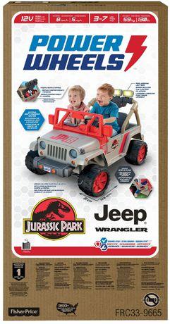Power Wheels Jurassic Park Jeep Wrangler - image 9 of 9