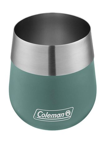 Coleman Claret Insulated Stainless Steel Wine Glass, 13oz, Seafoam - image 2 of 3