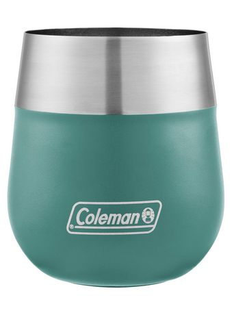 Coleman Claret Insulated Stainless Steel Wine Glass, 13oz, Seafoam - image 3 of 3