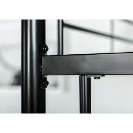 Lits simples superposés WE Furniture en noir - image 4 de 6