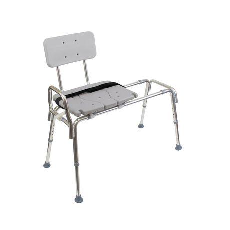 DMI Heavy-Duty Sliding Transfer Bench Shower Chair - image 4 of 5