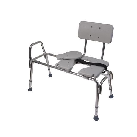 DMI Heavy-Duty Sliding Transfer Bench Shower Chair - image 5 of 5