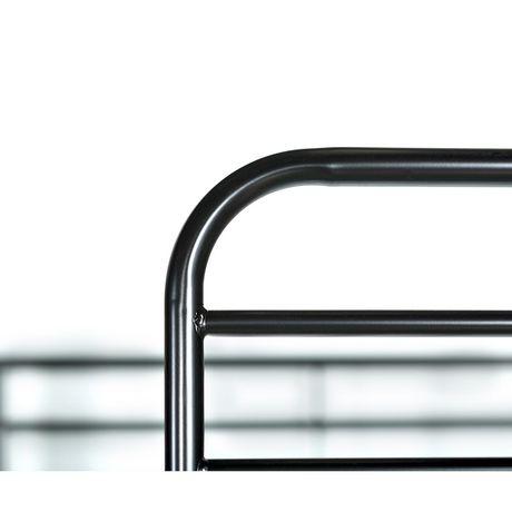 Lits simples superposés WE Furniture en noir - image 5 de 6