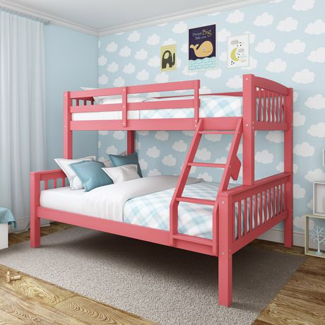 corliving lit superpos dakota 1 place 2 places rose walmart canada. Black Bedroom Furniture Sets. Home Design Ideas