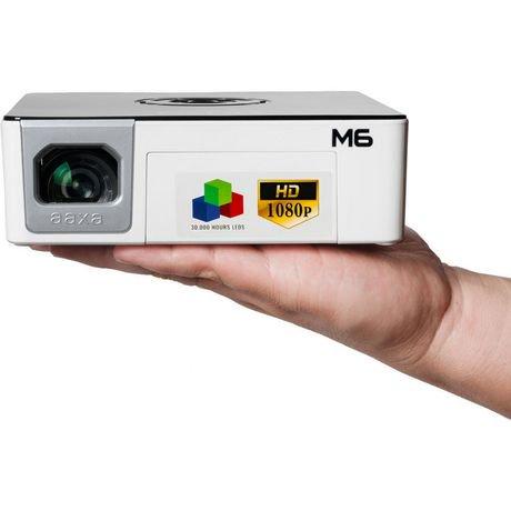 Aaxa m6 full hd pico projector 1200 lumens walmart canada for Hd pico projector