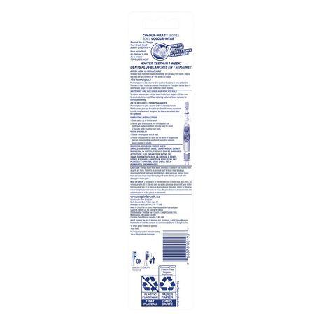 Brosse à dents à piles moyenne Ultra blanc Série Pro Spinbrush d'ARM & HAMMER - image 5 de 5