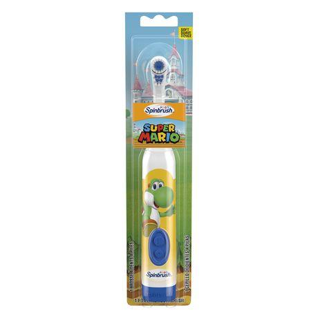 Brosse à dents à piles Kids Spinbrush Super Mario d'ARM & HAMMER - image 2 de 4