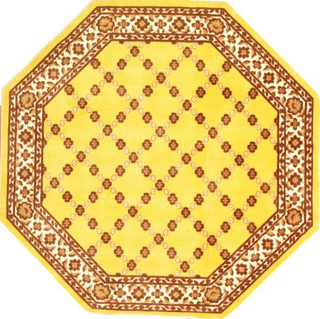 epic octagon area rug with non slip backing walmart canada. Black Bedroom Furniture Sets. Home Design Ideas